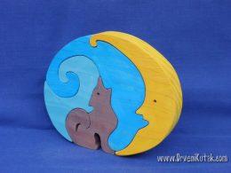 Vuk i mjesec